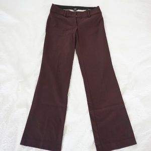 loft maroon color trousers